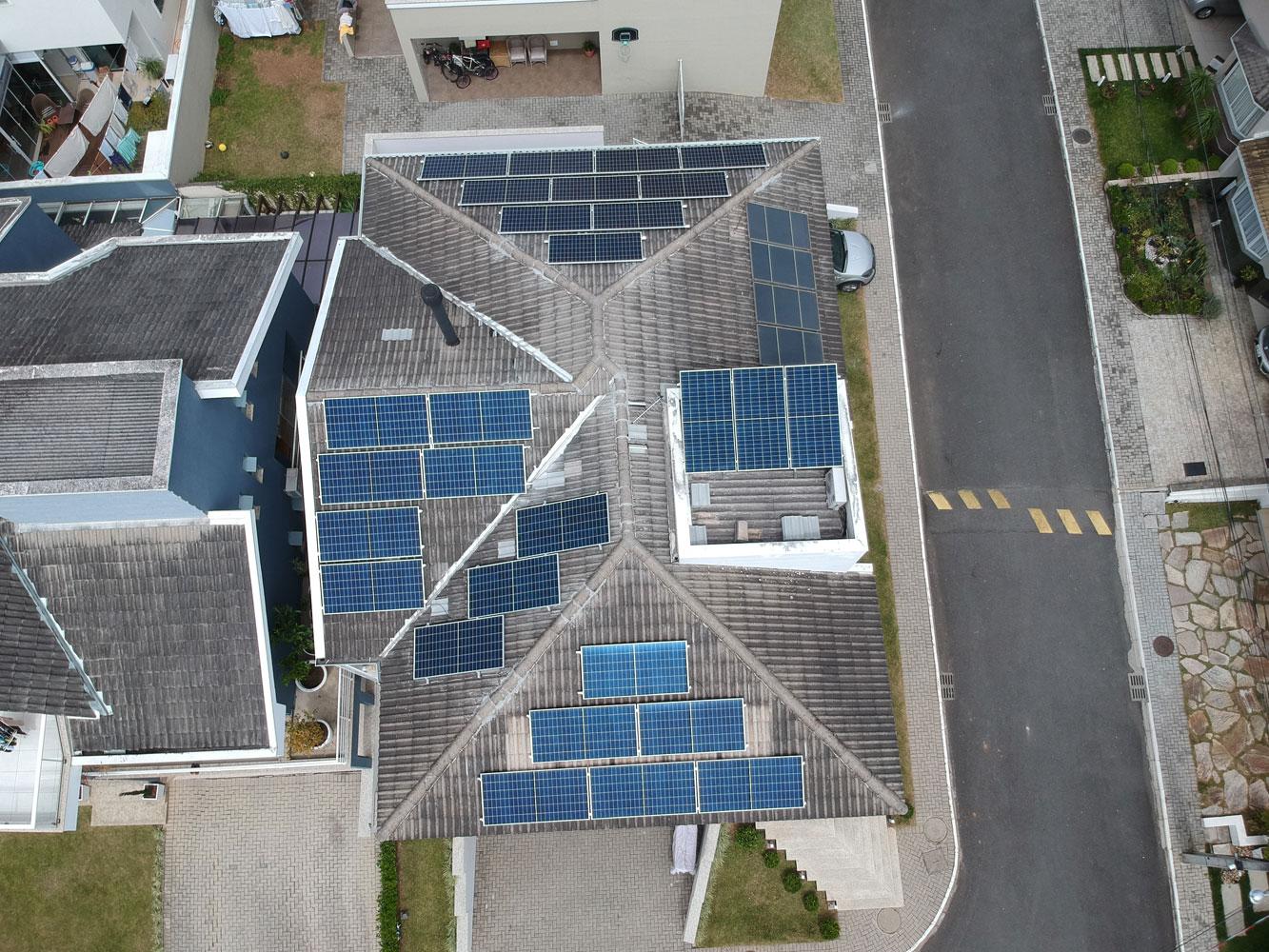 painel solar para casa