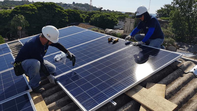 instalação painel solar em curitibe
